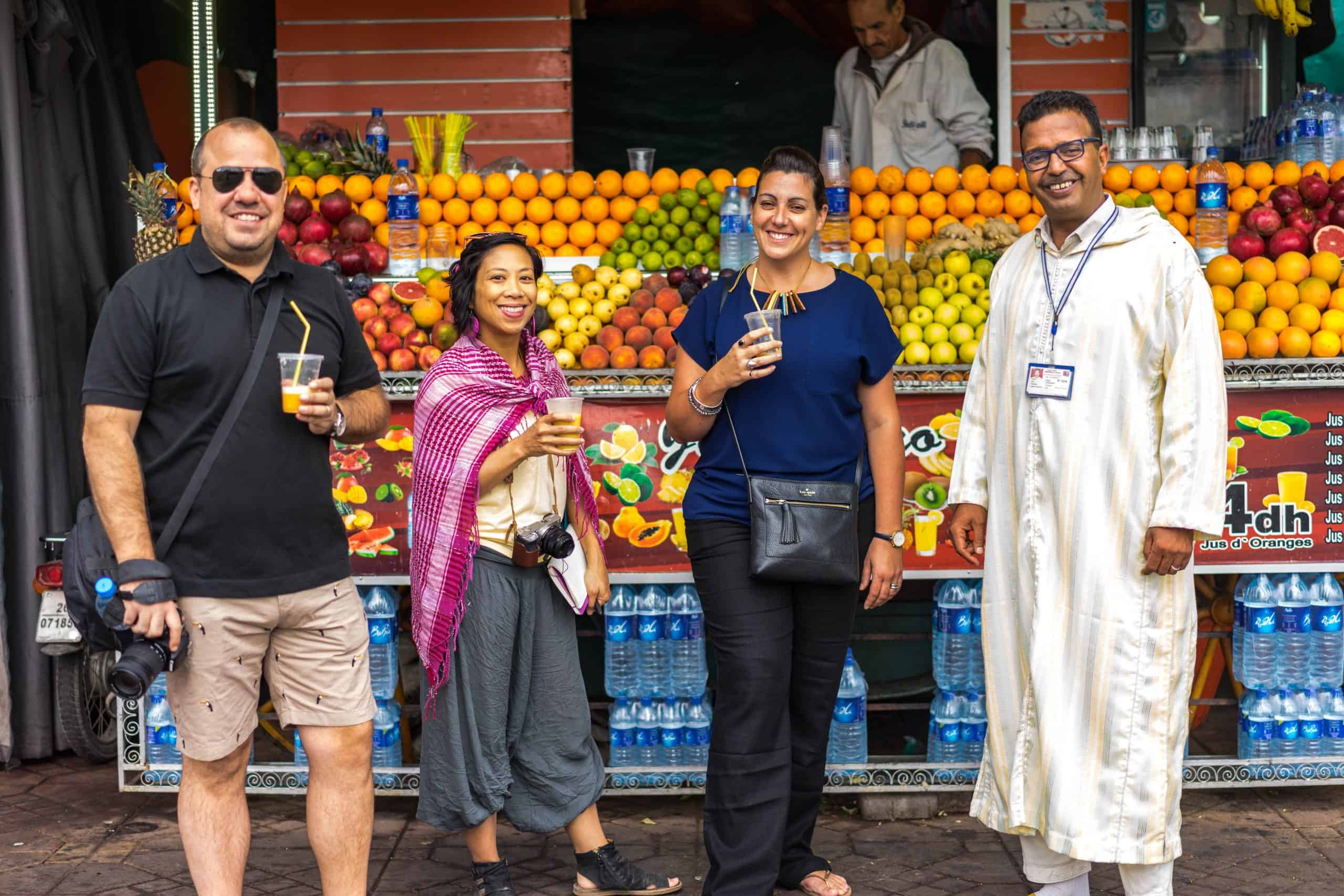 Branding Campaign - Moroccan Food Tour